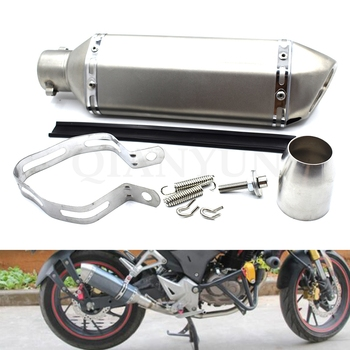 Universal 38-51mm Modified Motorcycle Exhaust Pipe escape Muffler For DUCATI Monster 696 796 695 659 796 400 695 620 1100/S/EVO