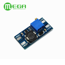 50 개/몫 MT3608 2A 최대 DC DC 스텝 업 파워 모듈 부스터 파워 모듈