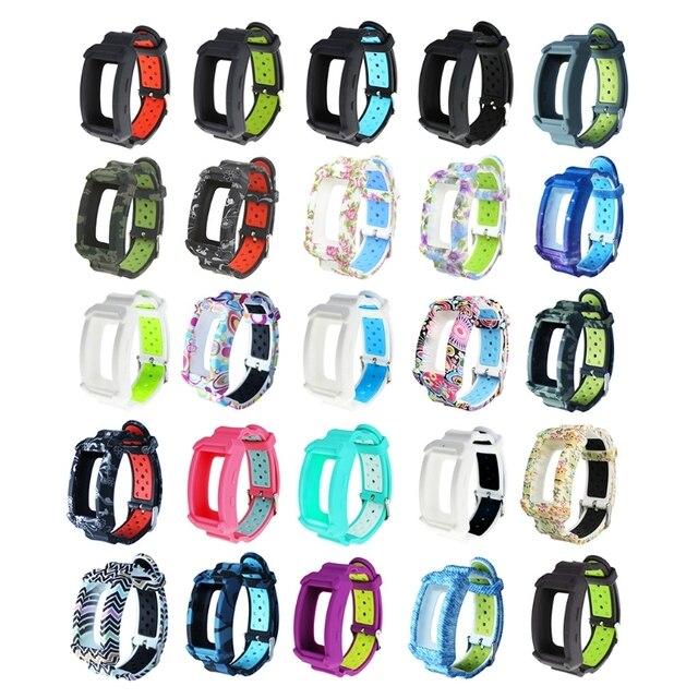 חדש סיליקון שעון להקת עבור ציוד Fit2 פרו כושר שעון יד להקות רצועת עבור Samsung Gear Fit 2 SM R360 צמיד
