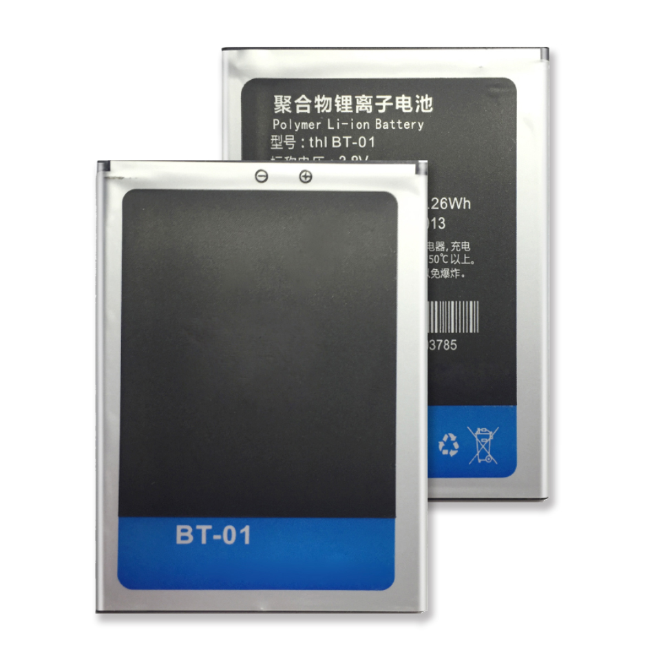 For THL T100 T11 <font><b>DNS</b></font> <font><b>S5008</b></font> Battery BT-01 Rechargeable Li-ion Polymer Battery image