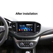 4CORE Android System Auto Stereo Radio Gps Bluetooth Player Für LADA Vesta Quer Sport 2016 2017 2018 2019 Schwimm fenster