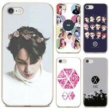 EXO группа k-pop kpop силиконовый чехол для мобильного телефона чехлы для iPod Touch iPhone 10 11 12 Pro 4S 5S SE 5C, 6, 6S, 7, 8, X XR XS Plus Max 2020
