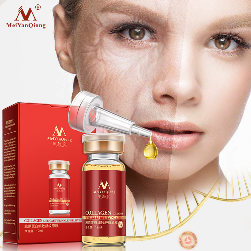 Collagen Argirelines+aloe Vera+collagen Rejuvenation Anti Wrinkle Serum For The Face Skin Care Products Anti-aging Cream 12ML