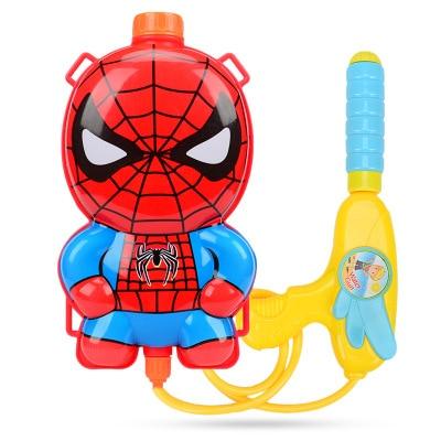 Kids Summer Toy Cartoon Backpack Water Gun Kids High Pressure Water Gun & Children Playing Water Beach Toys