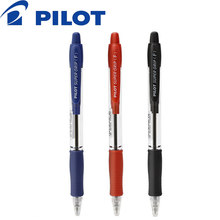 2019 Japan Pilot 6 Stuks BPGP-10R Super Grip Balpennen Balpen Transparante Plastic 0.7 Mm Kantoor School Supplies(China)