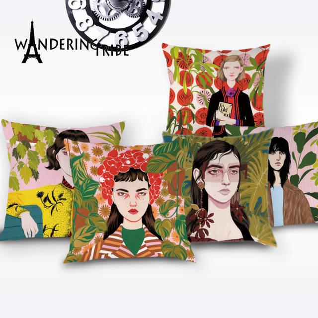 Beautiful Cushion Cover Portrait