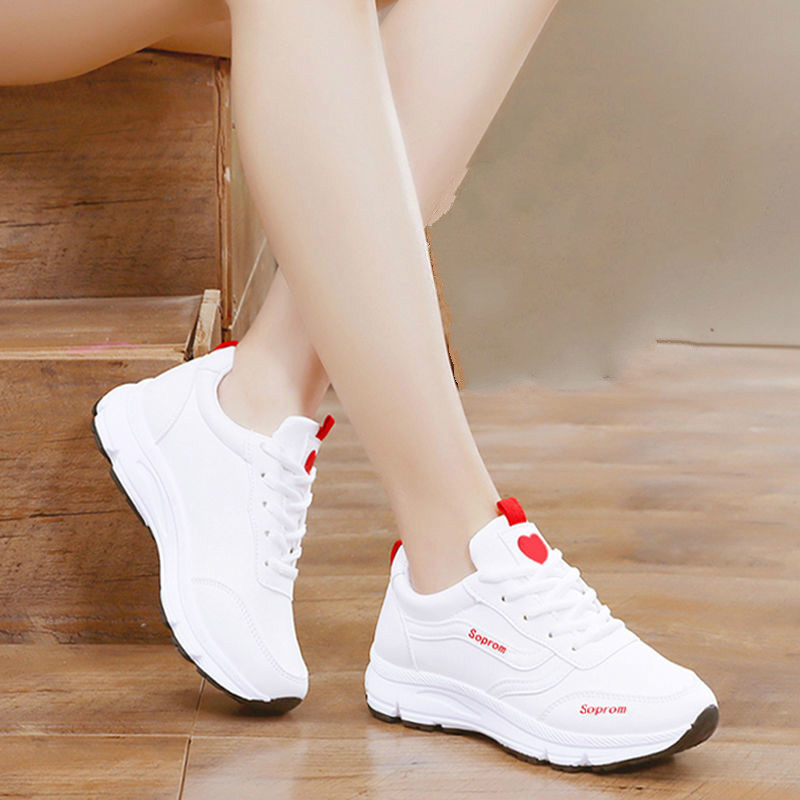Shoes Women 2020 Winter Sports Shoes Women Plus Velvet Cotton Shoes White Shoes Student Casual Running Women's Shoes New Trend