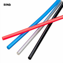 5 meters Minimum purchase 5meters 4mm OD×2.5mm ID 6MM OD 4MM ID 8MM×5MM 10MM×6.5MM 12MM×8MMc pipe tube  Blue Red Transparent od id 7 4mm protection tube good thermostability insulation ceramic tube