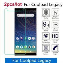Temperli cam için Coolpad Legacy 2.5D Premium ekran koruyucu Film için Coolpad Legacy 2019 6.36