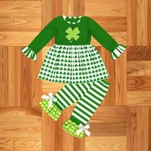 ชุดเด็กทารกเสื้อผ้าทารกแรกเกิดทารกเด็กทารก Saint Patricks Day ชุดเสื้อผ้าฤดูใบไม้ร่วงฤดูใบไม้ผลิชุดเด็กวัยหัดเดินชุดเด็ก
