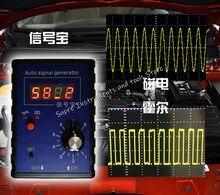 Sensor portátil do salão do carro do gerador de sinal do veículo automático e sensor de posição do virabrequim simulador de sinal medidor 2hz a 8khz