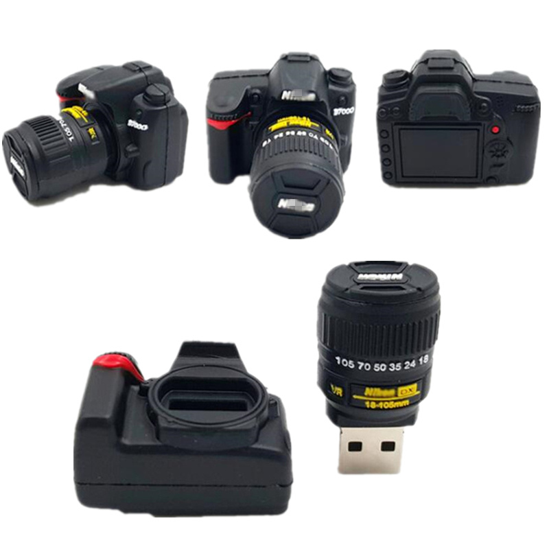 Memory Stick Flash Card Thumb Drives Camera Shape Photography Gifts Usb Flash Drive 4g 8g 16g 32gb 128gb Pendrive 64gb Pen Drive