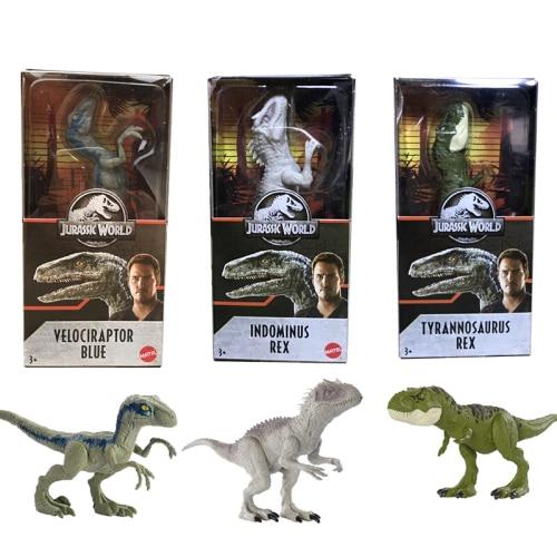 Original Jurassic World Dinosaur Mask Action Figure Anime Dinossauro Jurassic Park Anime Figure Dinosaur Hot Toys for Children