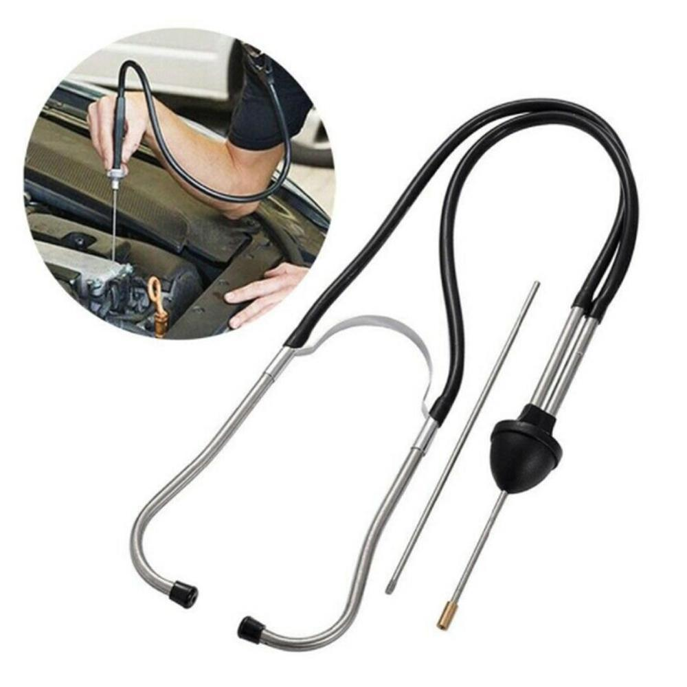 Car Diagnostic Tools Car Engine Block Stethoscope Professional Automotive Detector Auto Mechanics Tester Tools Engine Analyzer