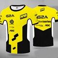 Летняя футболка для игры CSGO Pro, уличная одежда, Униформа, новая футболка Navi, мужские и женские футболки, топы, Джерси, команда киберспорта Natus ...
