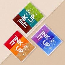 DIY BIG Ink Pad 3 Colors Inkpad Creative Stamp Pad Seal Cute Seal Sponge Ink Stationery Album Scrapbooking Paper Decor