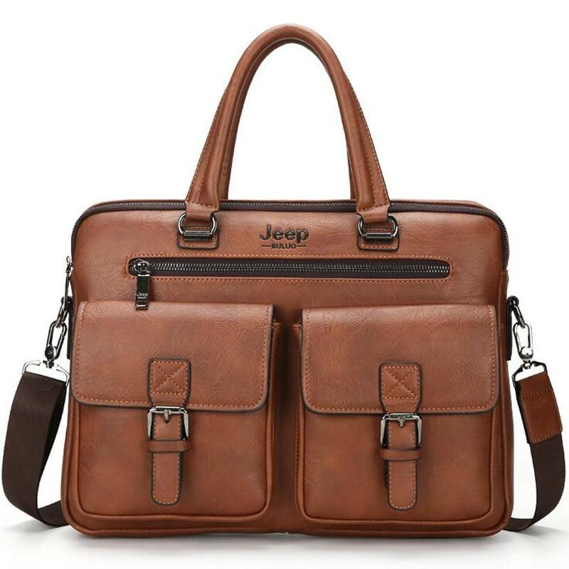 New Men's Briefcase Satchel Bags For Men Business Fashion Hand Bag Messenger Leather Bag Laptop Bag Bolso Hombre Luxury Handbags