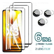 Protective Glass for Xiaomi Poco X3 NFC Pro X3NFC F3 Camera Protectorpocco X3 Nfc Glass Protective Tremp Film Poko F3 X3pro Glas