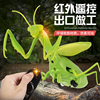 Infrared RC Remote Control Realistic Mini Mantis Insect Scary Trick Toy Simulation Animal Funny Prank Kids For Children Toy Gift 1