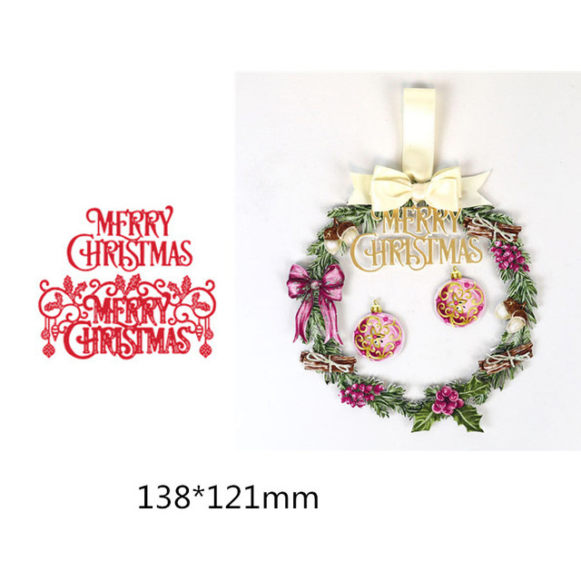 Invitations Scrapbooking 15 Layered Christmas Ball Diecuts Cards Decorations