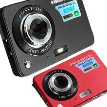 """Цифровая мини-камера с зумом 2,7 """"HD 1080P 18 МП, цифровая видеокамера для детей, видеокамера с антивибрацией, фотокамера, подарок для детей"""