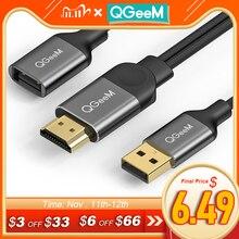 Qgeem usb hdmiケーブルiphone 8 × 7 6プラスipadのテレビのandroid携帯電話にmhlアダプタ1080pのためのiphone hdmiケーブル