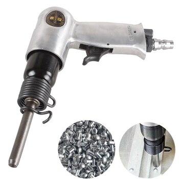 Пневматический воздушный клепальный пистолет для дорожного знака, панель с твердыми заклепками, пистолет для пневматического клепального