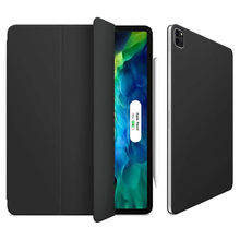 Caso para apple ipad pro 11 polegada fino magnético inteligente suporte caso para apple ipad pro 11 polegada 2020 wake/sleep screen cover