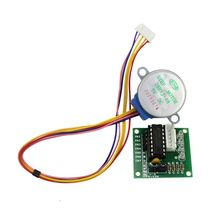 цена на Smart Electronic 4 Phase DC Gear Stepper Motor + ULN2003 Driver Board DIY 5 Line 23GB