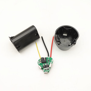 Image 2 - Furadeira elétrica de mão 3s bms li ion 12.6v 18650, pcb com caixa de armazenamento, acessórios para kit de broca de mão chave de fenda elétrica,