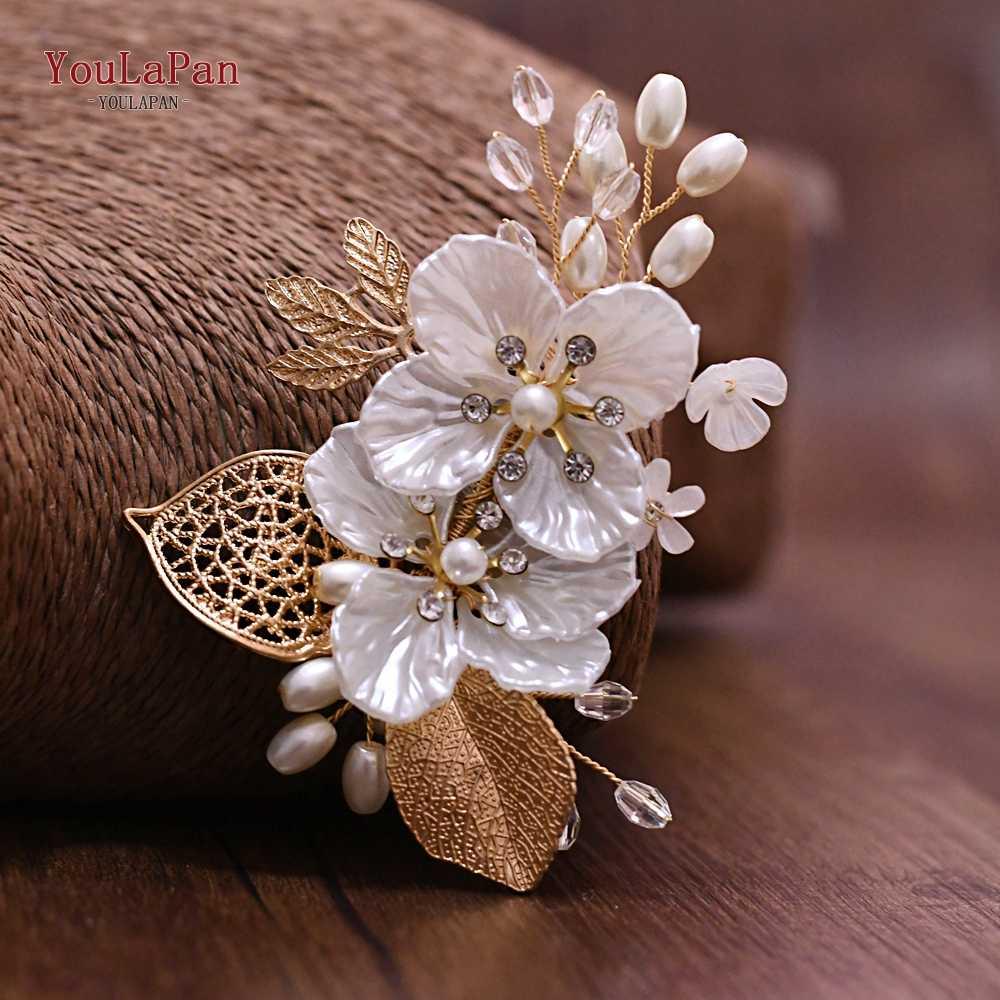 Youlapan HXZ02 Sliver Pernikahan Bros Handmade Daun Pria Perapi Aksesoris Bros Perhiasan Setelan Korsase untuk Pria Wanita Pernikahan
