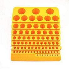 Tool-Box Drill-Bit-Accessories Organiser-Rack Storage Milling-Cutter Multifunction Plastic