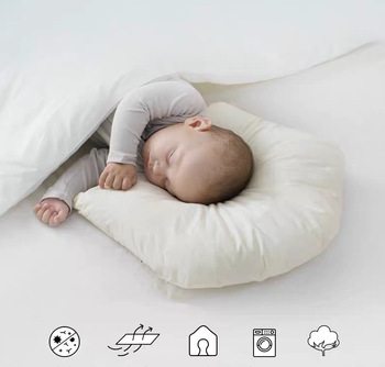 New Cotton Baby Pillow Baby Correction Anti-Deviation Head Baby Pillow Sleeping Pillow Positioning Pillow Baby Pillow energy deviation