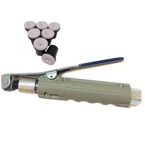 Image 2 - JL pistola de chorro de arena de aire con 8 piezas, boquillas de chorro de arena para tanques de chorro portátiles de 5 galones