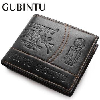 Fashion Men Wallets Luxury Brand Famous Leather Card Cash Receipt Holder Organizer Bifold Short Wallet Purse with Zipper