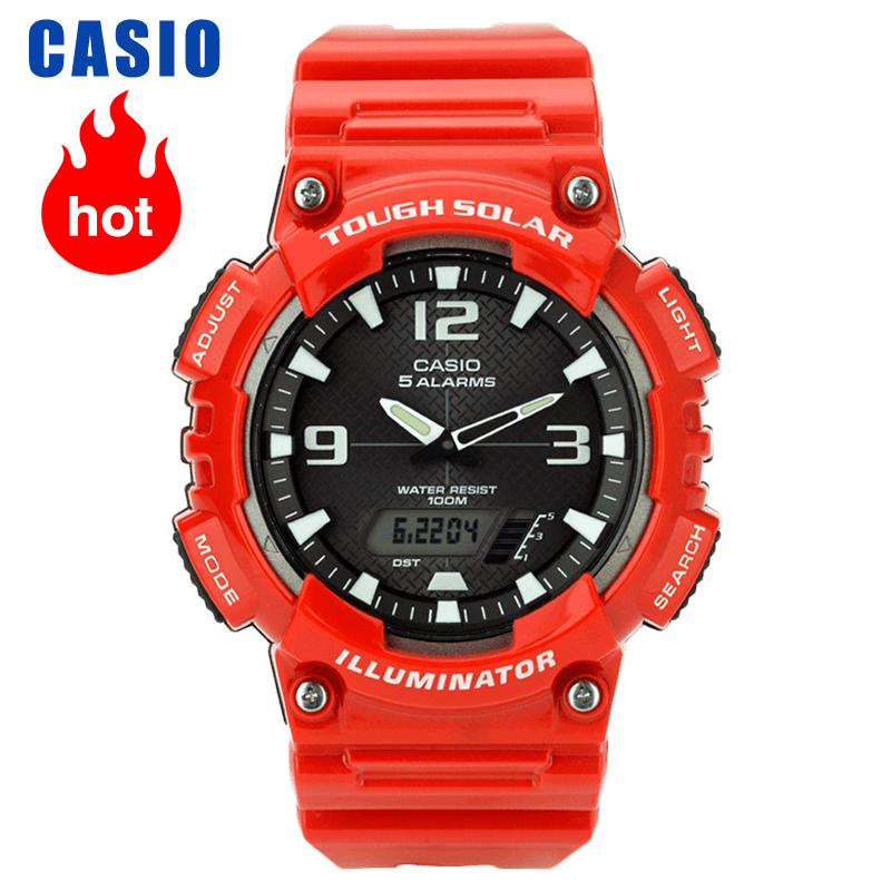 Casio Watch Trend Sports Waterproof Men's Watch AQ-S810WC-4A
