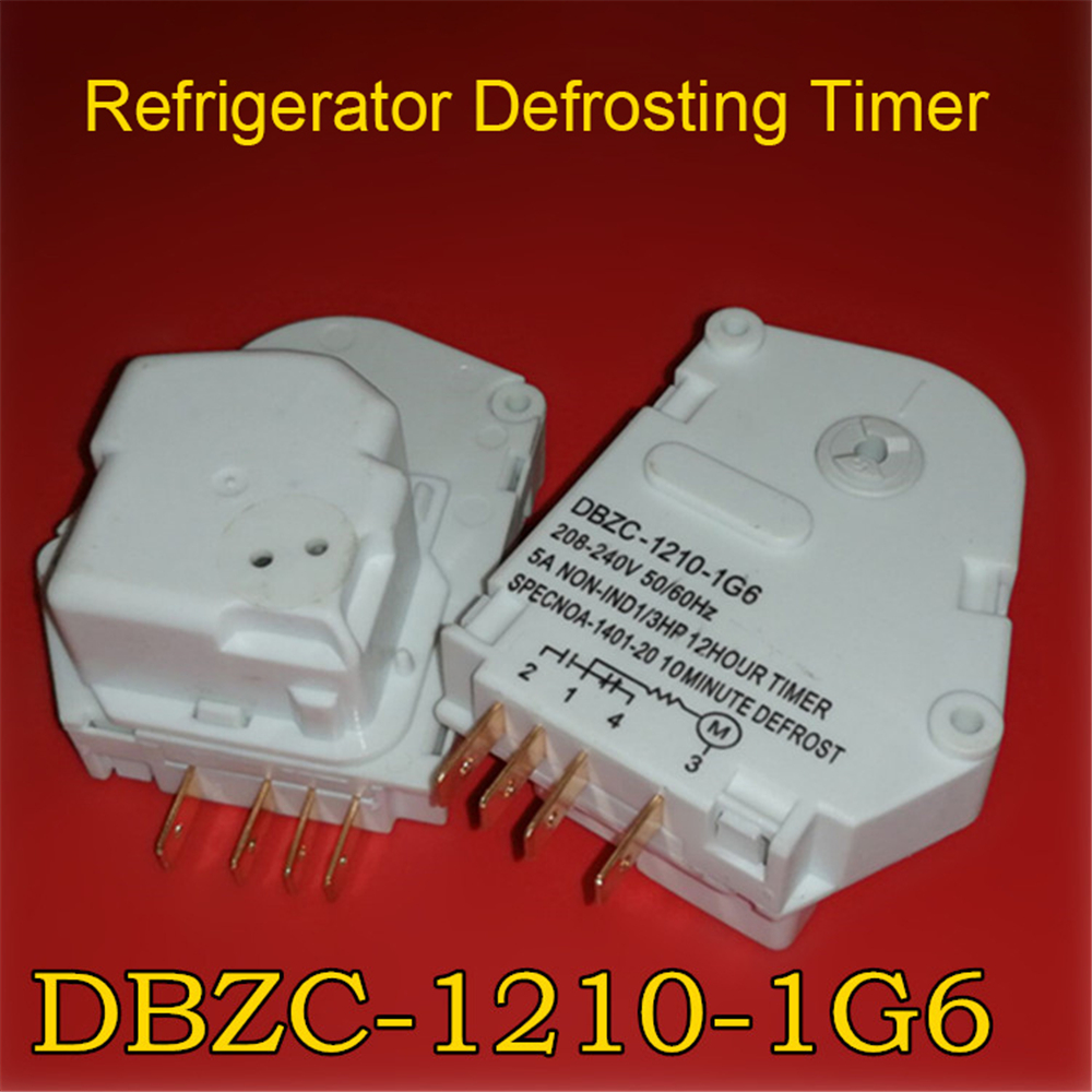 Replacement Defrosting Timer For Refrigerator Defrosting Timer DBZC-1210-1G6 Refrigerator Parts