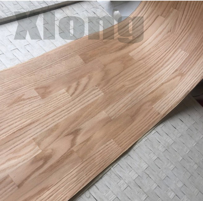 1Piece L:2.5Meters Width:42cm Thickness:0.5mm Natural Red Oak Patterned Mosaic Integrated Wood Veneer (back Non Woven Fabric)