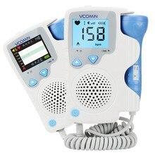 Monitor de batimento cardíaco fetal, 2.0mhz, doppler para bebês, monitor de frequência cardíaca, sonar, doppler para mulheres grávidas, sem radiação