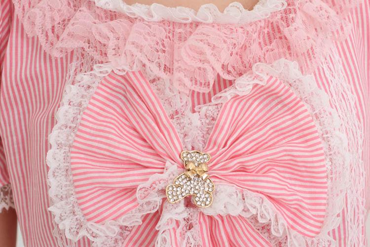 Princess sweet lolita dress Pink adorable dress Japanese Princess sweet soft sister ball gown Cake dress fashion women GZWY161 - 3
