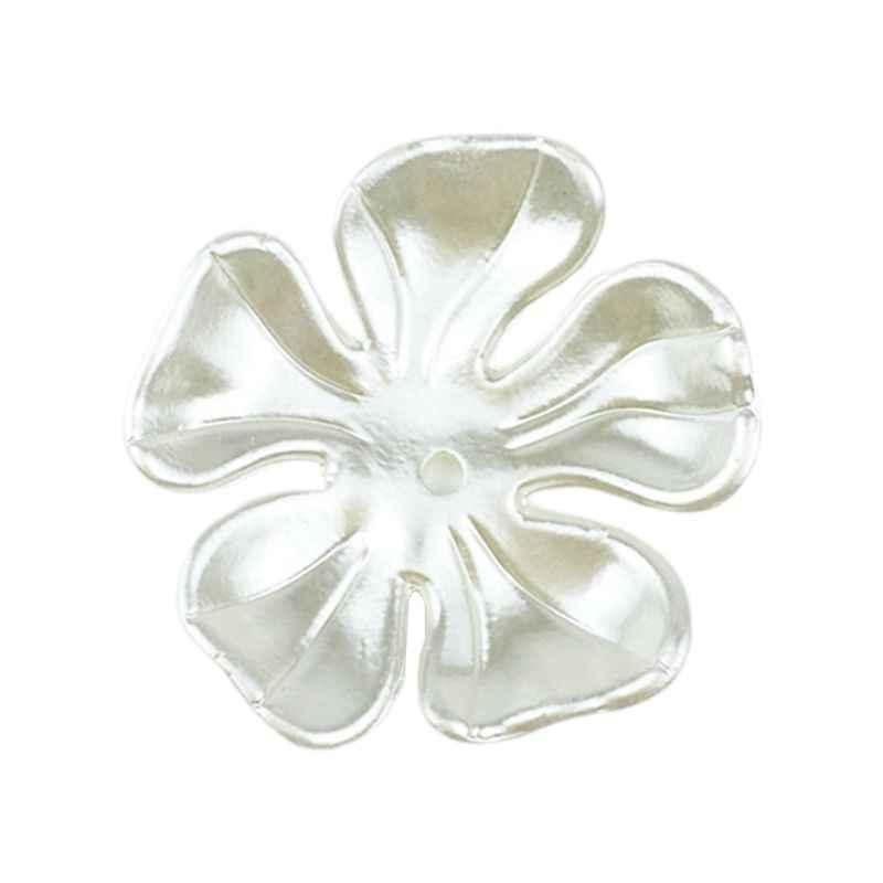 10 pz/pacco Resina di Mare In Resina Borsette Intagliato Ciotola di Fiori A Forma di Perline per FAI DA TE Copricapo Monili Che Fanno Accessori di Perforazione