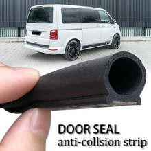 شريط مانع تسرب مطاطي لباب السيارة ، 32.8 قدمًا ، 10 م ، 16 × 16 مللي متر لـ VW T5 ، T5.1 ، T6 ، T6.1 ، Multivan ، Caravelle ، Campervan ، T32 ، T4