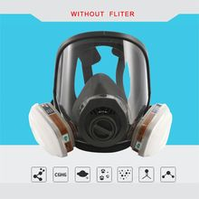 Full Facemask Respirator Set Facepiece Defense Spray Painting Large Mask Protection For Chemistry Spraying E65A
