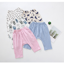 Baby Pants Animal-Trousers Baby-Boys-Girls Cotton Summer And Spring Popular Kids Children