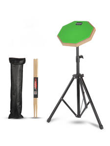 Drum Drum-Pad-Stand Percussion-Instruments-Parts Rubber Beginner Wooden Practice Training