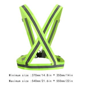 Elastic Straps Night Running Reflective Strap Protective Reflective Vest Clothing Riding Driving Protective Clothing