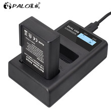 1000mAh 7.4V EN-EL9 ENEL9 ENEL9 EL9 Li ion Battery for Nikon D40 D40X D60 D3000 D5000 Digital Camera bartteries and LCD charger