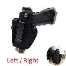 Funda de pistola táctica IWB OWB, accesorio de transporte oculto, compatible con GLOCK 17 19 22 23 32 33 Ruger