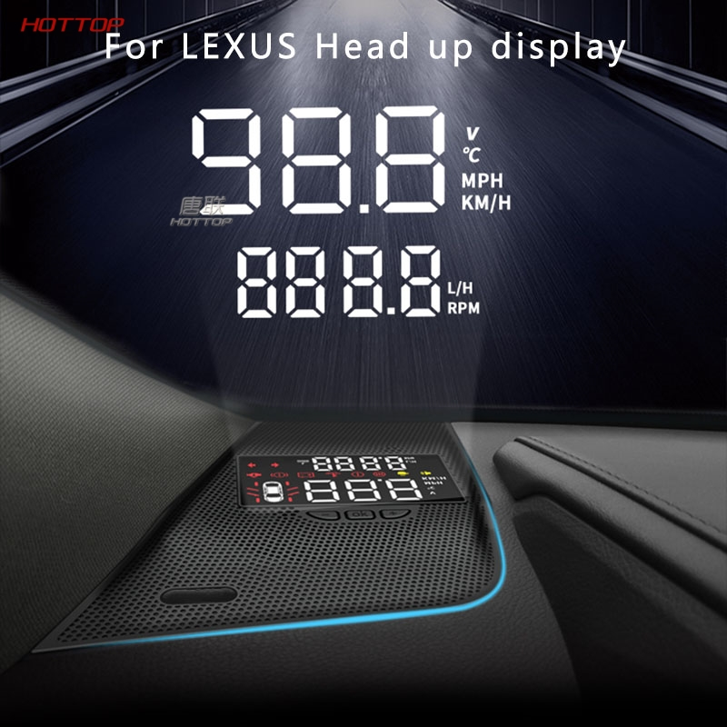 Modified HUD Head-up Display For Lexus ES200 300h Rx300200tnx200t