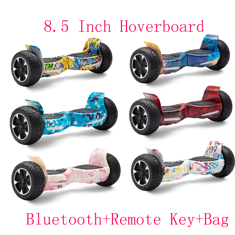8.5 Inch Hoverboard Off-road Self Balancing Scooters All-terrain Electric Scooters Two Wheels Balance Skateboard Kids Gifts+Bag